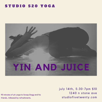 yin and juice july